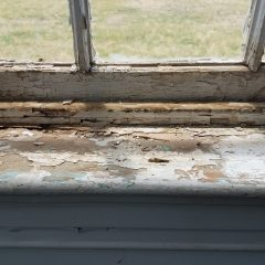 Damaged Sash Window